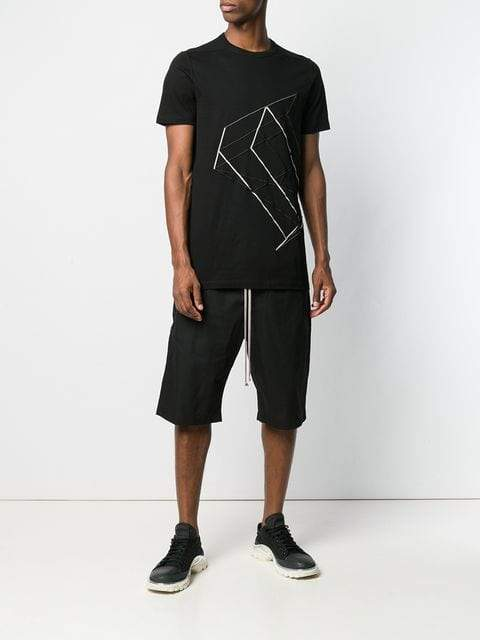 Rick Owens DRKSHDW Cropped Trousers | MAISONDEFASHION.COM