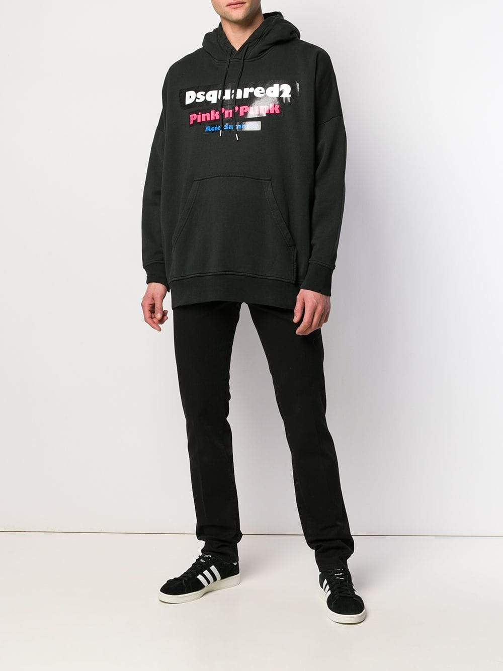 Dsquared2 Oversized Hooded Sweatshirt | Dsquared2