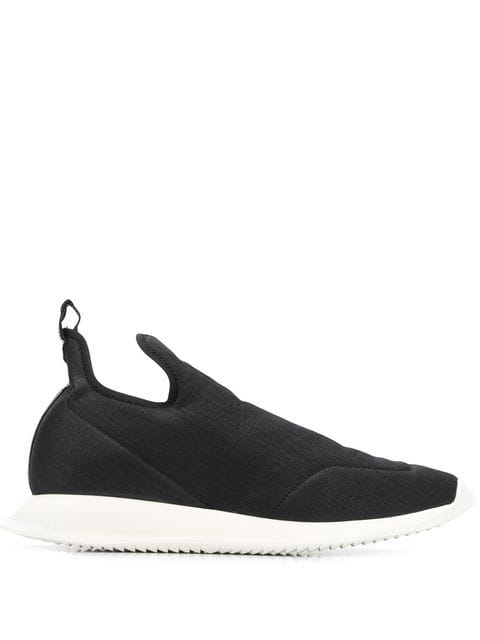 Rick Owens DRKSHDW Black Runners | Maison De Fashion