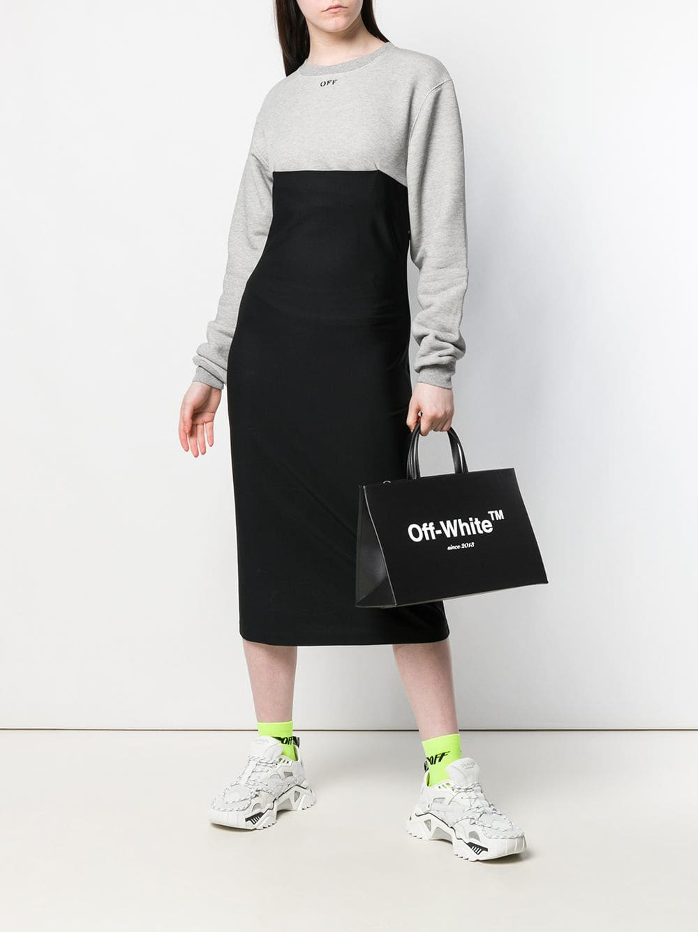 Off-White Logo Box Bag | Maison De Fashion