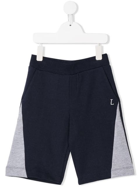 LANVIN ENFANT TEENS Navy Shorts | Maison De Fashion