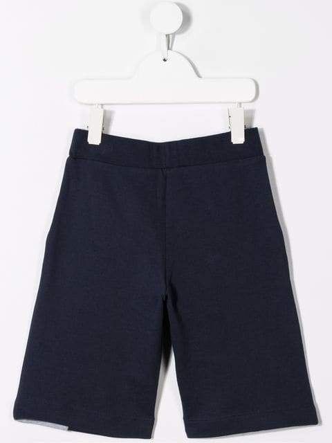 LANVIN ENFANT TEENS Navy Shorts - Maison De Fashion