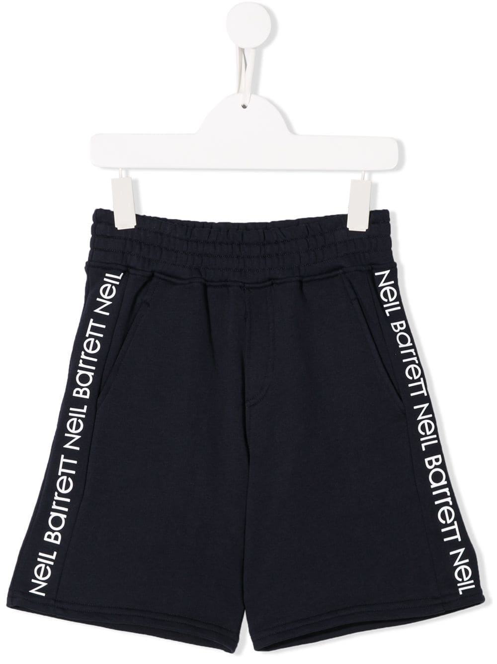 NEIL BARRETT KIDS logo print track shorts | Maison De Fashion
