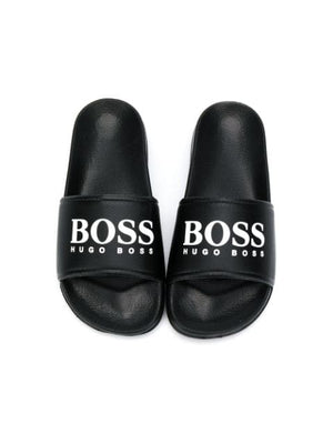 Boss Kids Logo Sliders - Maison De Fashion
