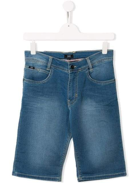 Boss Kids Denim Shorts | Hugo Boss Kids