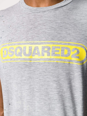 Dsquared2 Logo Print T-shirt - Maison De Fashion