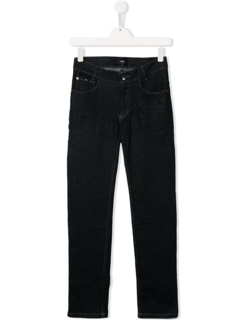 Boss Kids Five Pocket Design Jeans | MAISONDEFASHION.COM