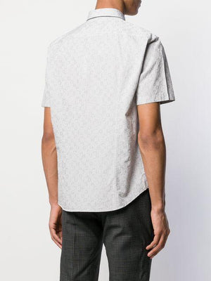 BOSS Grey Short Sleeve Shirt - Maison De Fashion