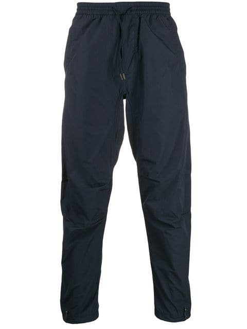 Maharishi Navy Dragon Track Pants | MAISONDEFASHION.COM