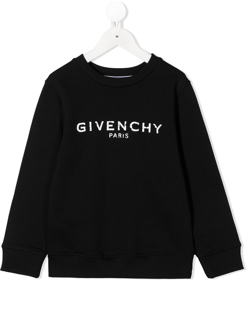 GIVENCHY KIDS Logo Sweatshirt Black/White