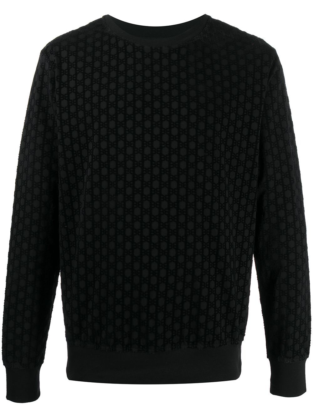 BALMAIN Resin Longsleeve T-Shirt Black - Maison De Fashion
