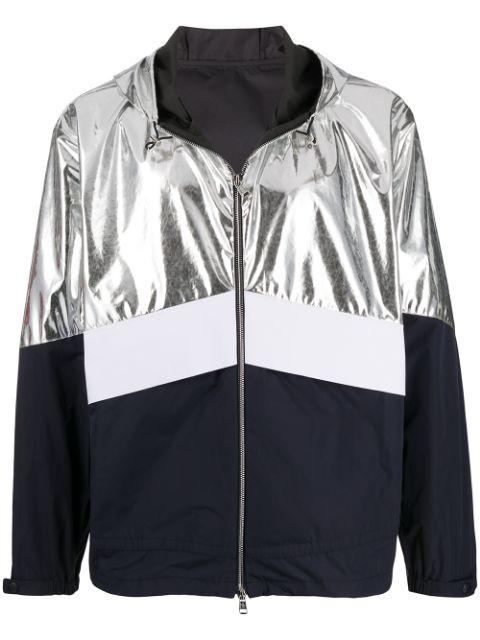 MONCLER quinic jacket silver/navy