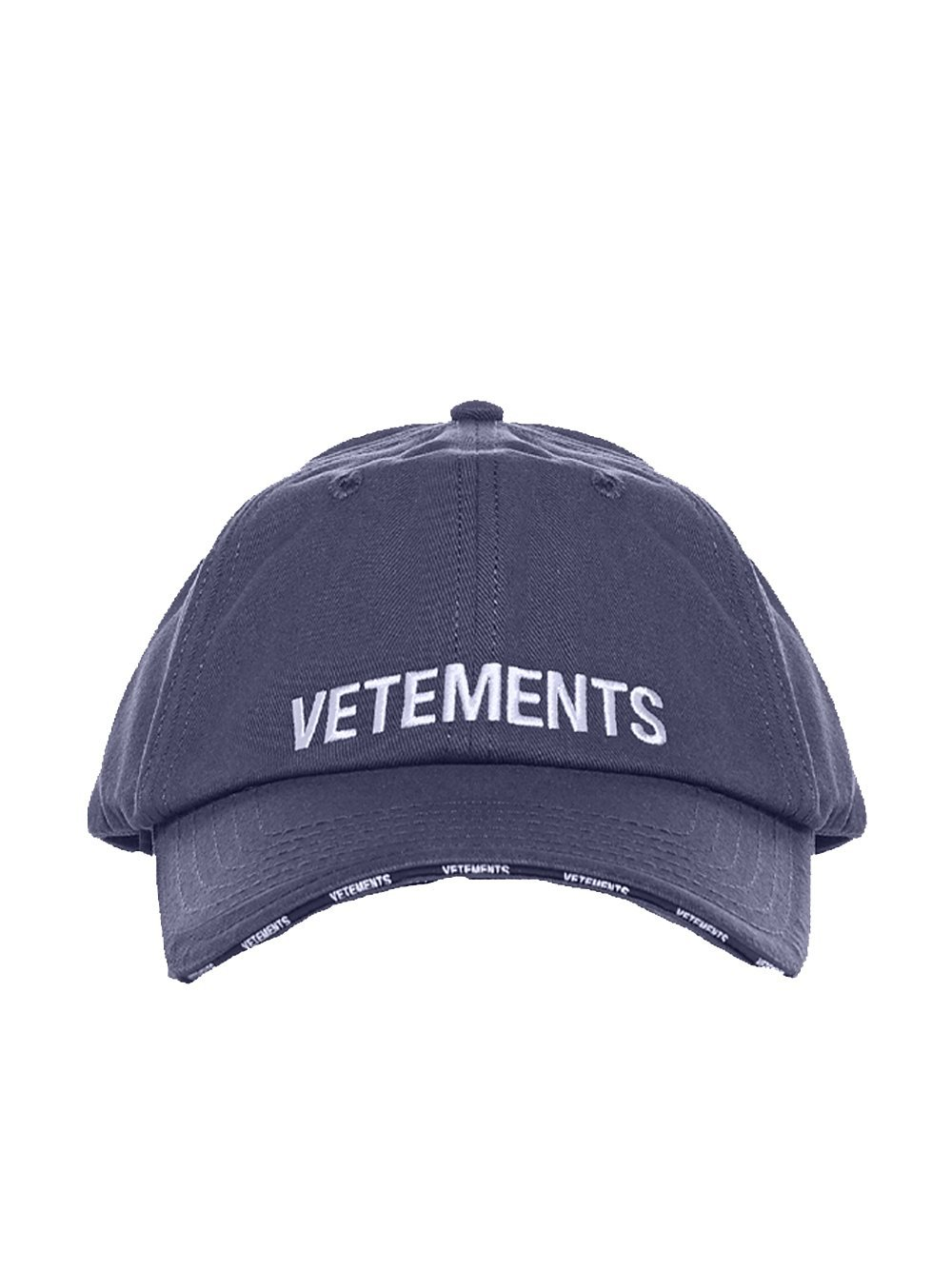 VETEMENTS Logo Cap Navy