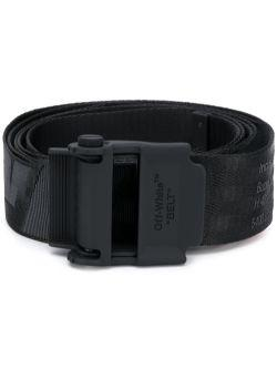 OFF-WHITE 2.0 industrial belt black/black - Maison De Fashion