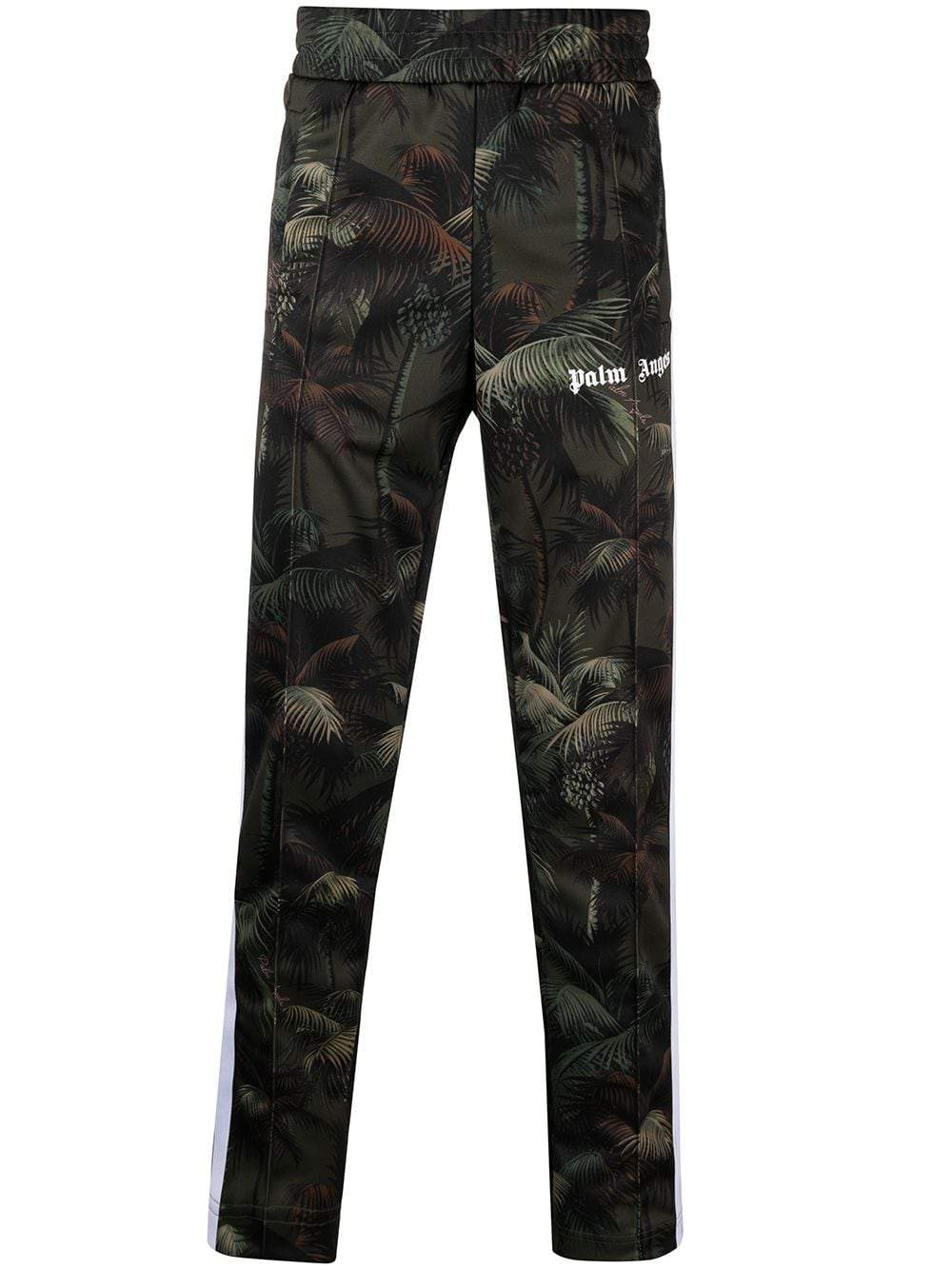 PALM ANGELS Jungle Logo Track Pants