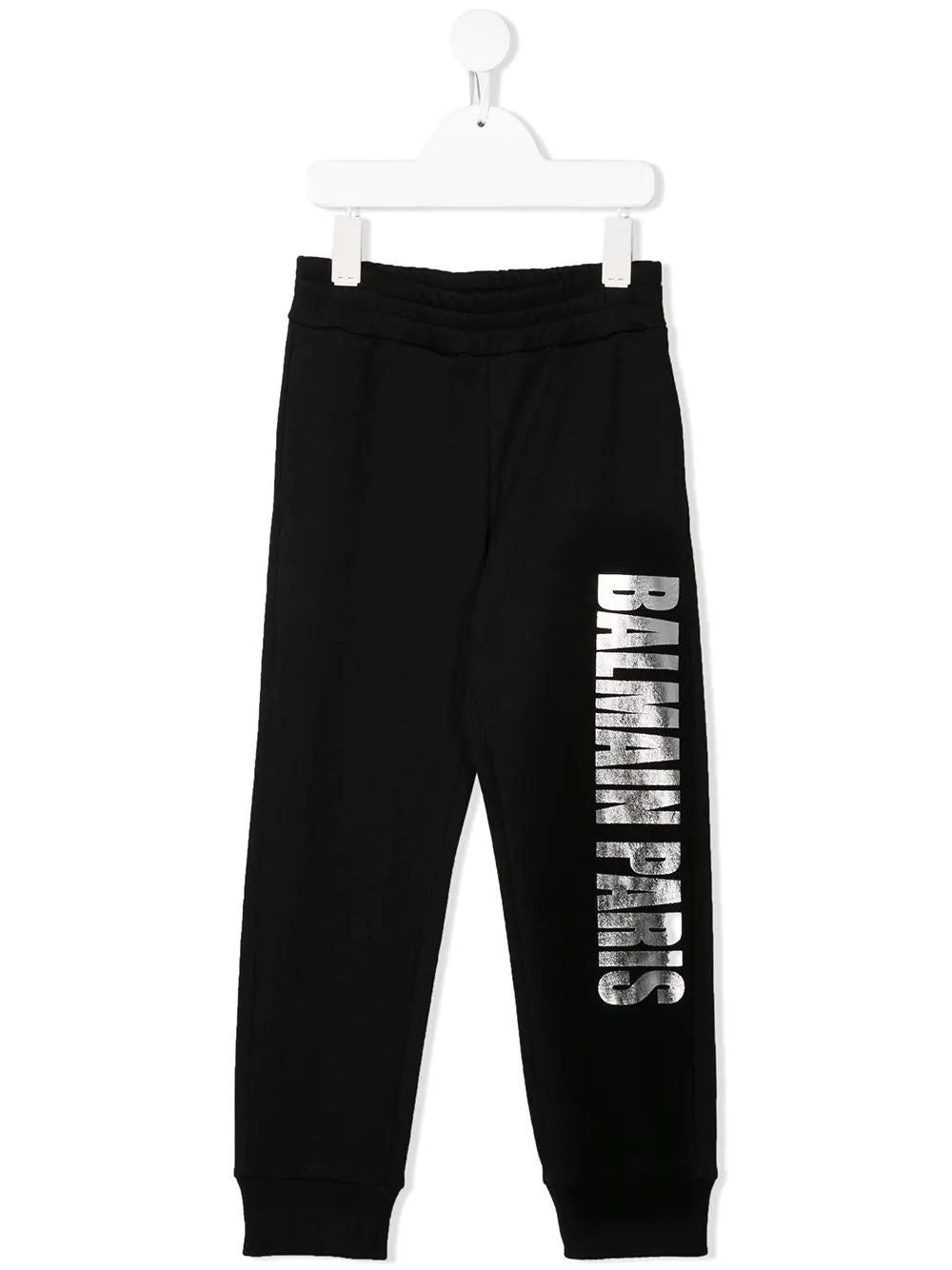 BALMAIN KIDS logo print track pants black - Maison De Fashion