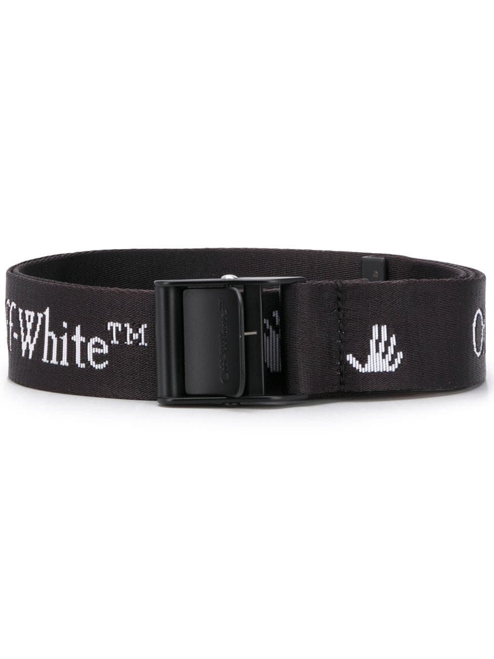 OFF-WHITE new logo industrial black/white - Maison De Fashion