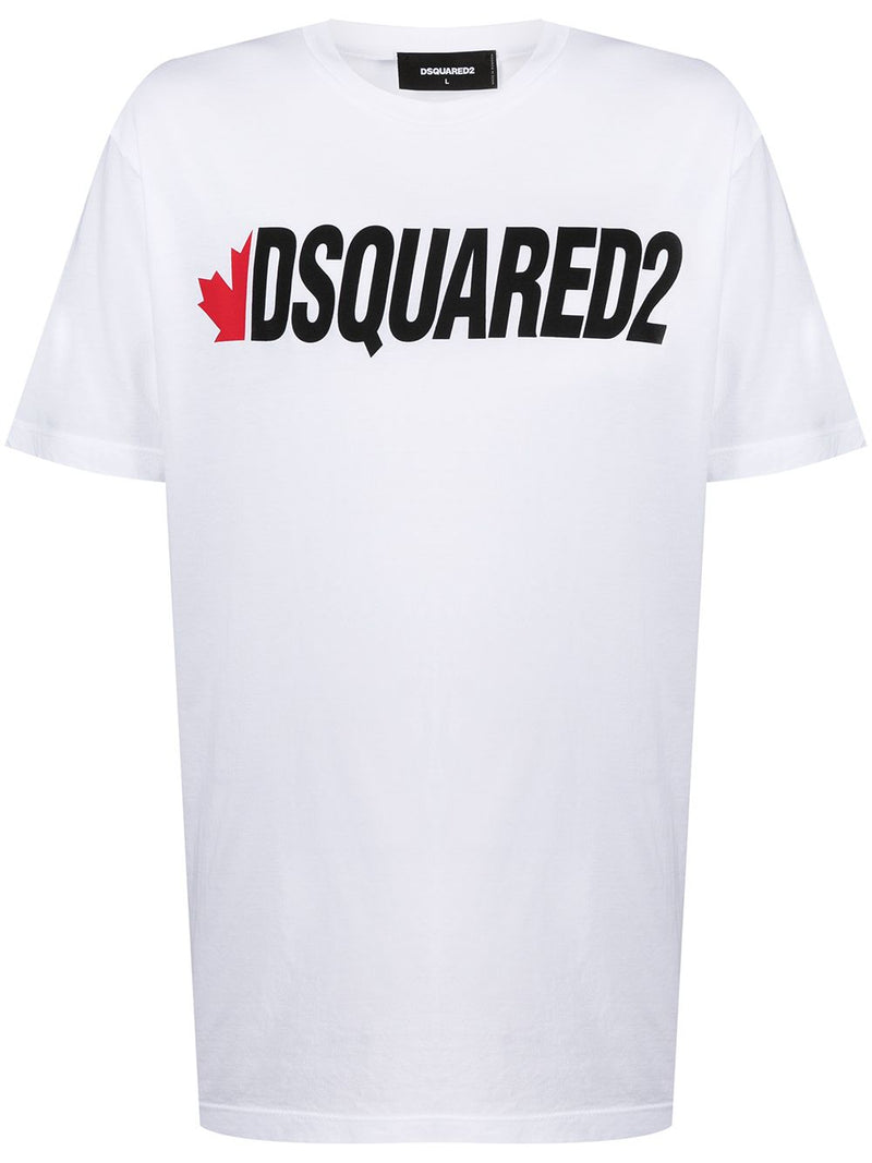 DSQUARED2 Logo T-Shirt White