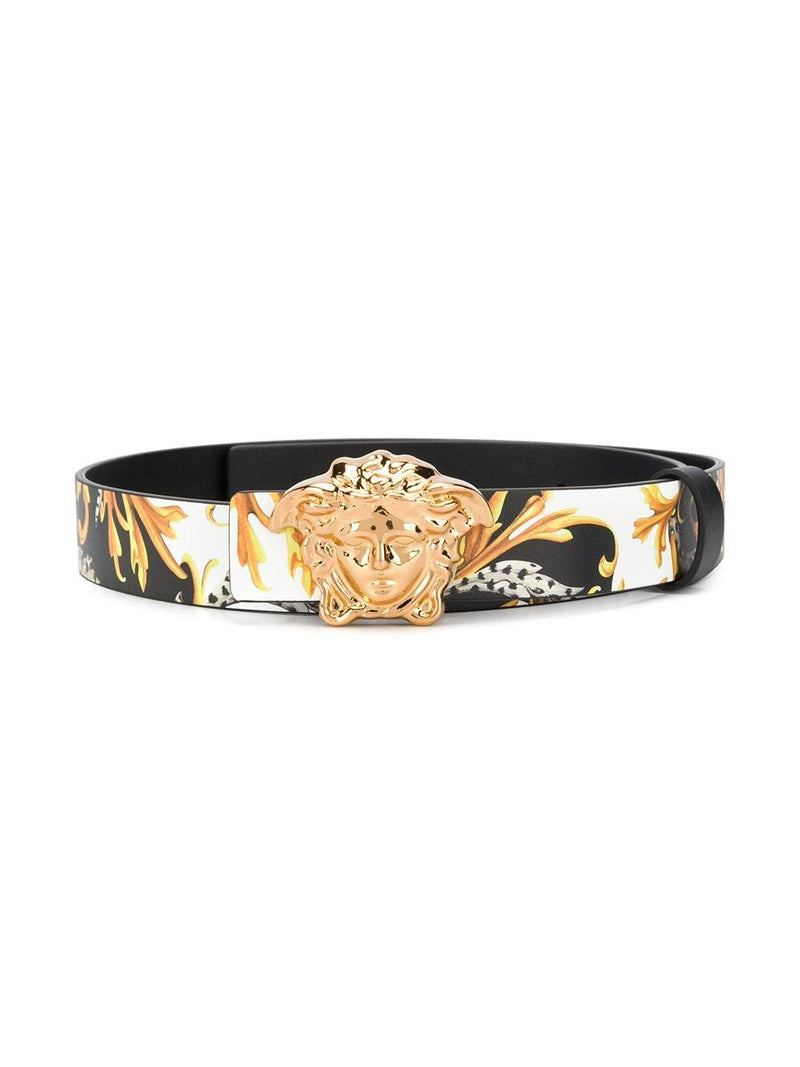 VERSACE KIDS Medusa Logo Baroque Print Belt - Maison De Fashion
