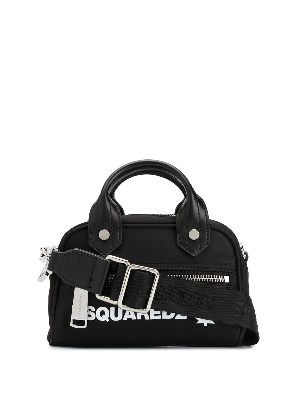 DSQUARED2 Maple Leaf Logo Handbag Black