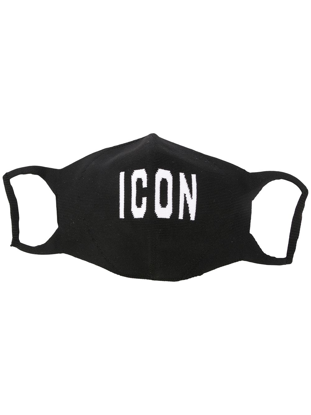 Dsquared2 logo-embellished icon face mask black/white