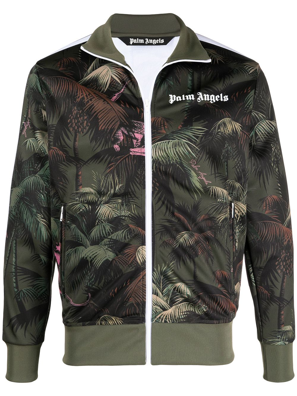 PALM ANGELS Jungle Logo Track Jacket
