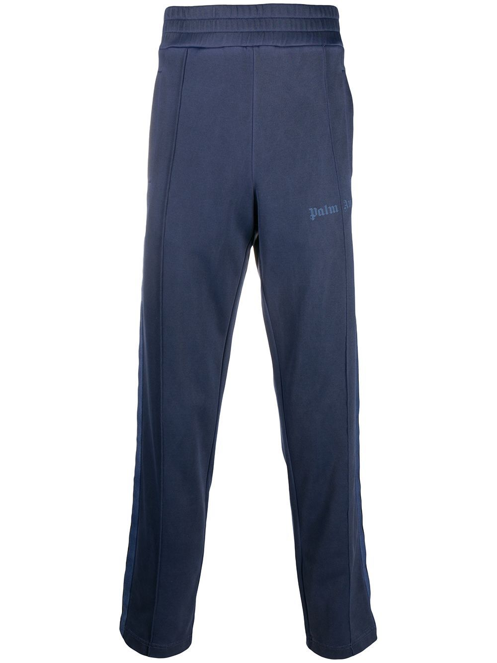 PALM ANGELS Garment Dyed Track Pants Blue