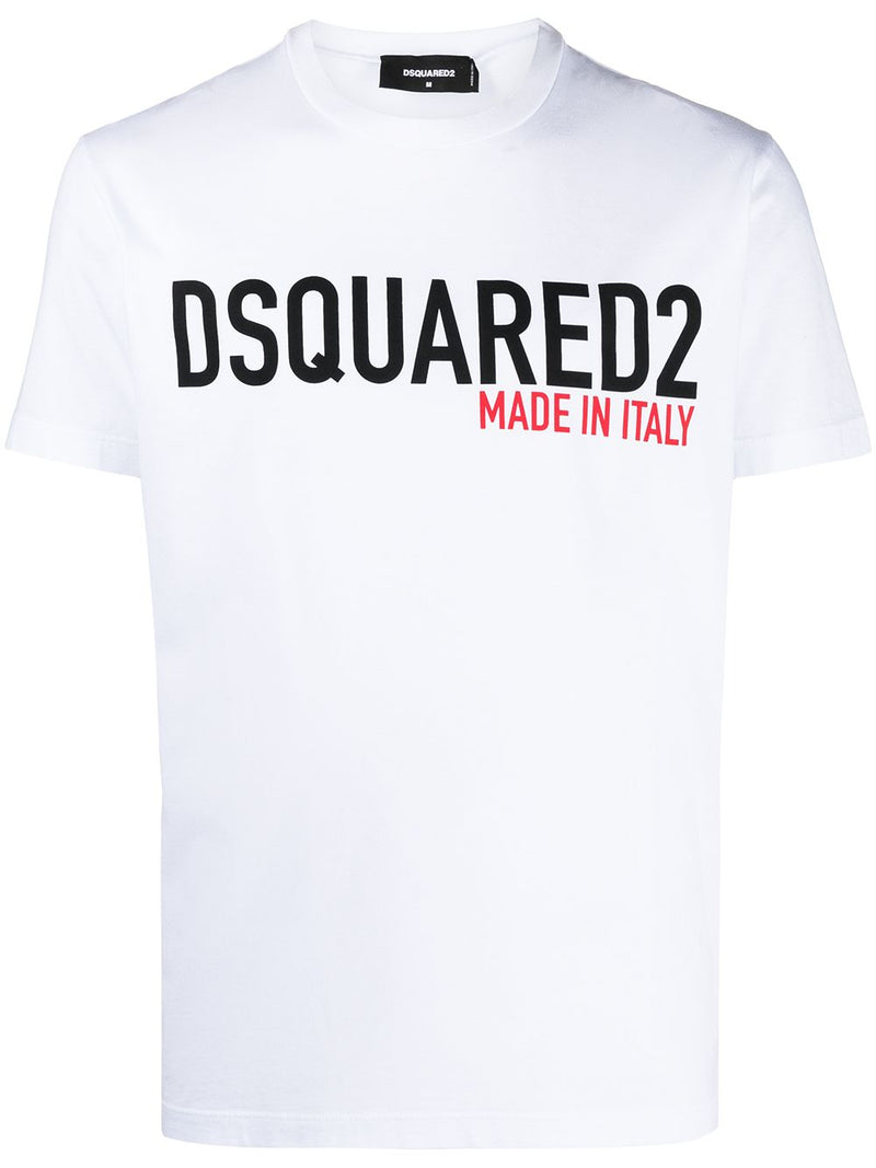 DSQUARED2 Made in Italy Logo T-Shirt White