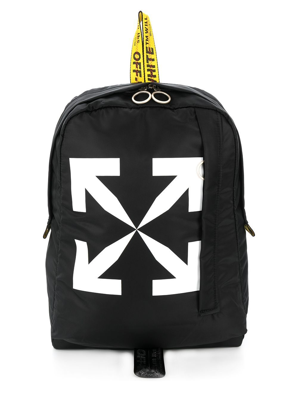 OFF-WHITE New Arrow Print Backpack
