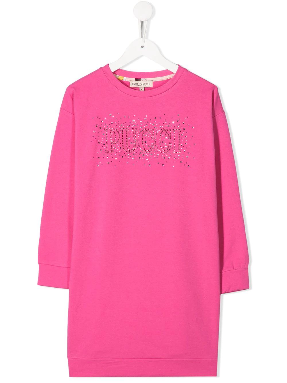EMILIO PUCCI JUNIOR embellished sweatshirt dress - Maison De Fashion