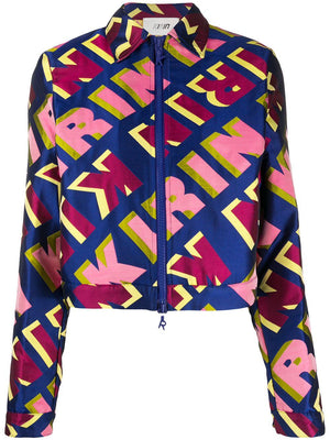 KIRIN repeat logo jacket - Maison De Fashion