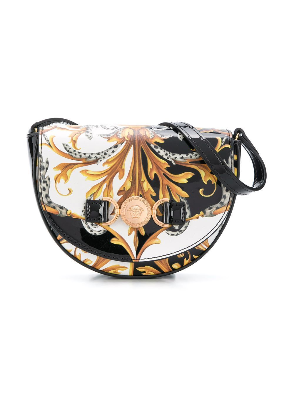 VERSACE KIDS Baroque Print Shoulder Bag - Maison De Fashion