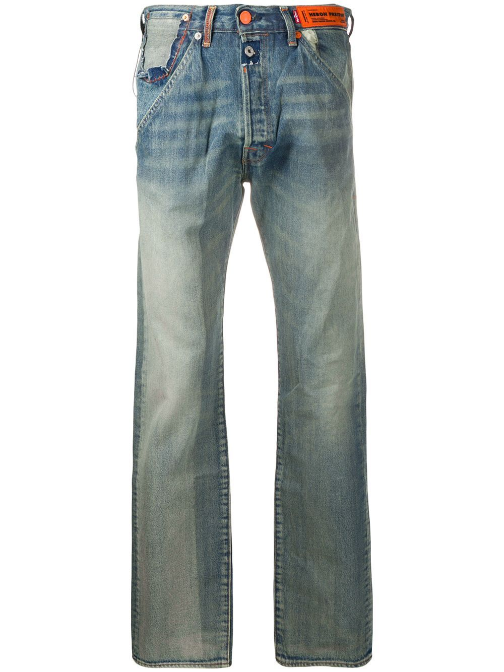 HERON PRESTON Levi's 501 Vintage Wash Jeans - Maison De Fashion