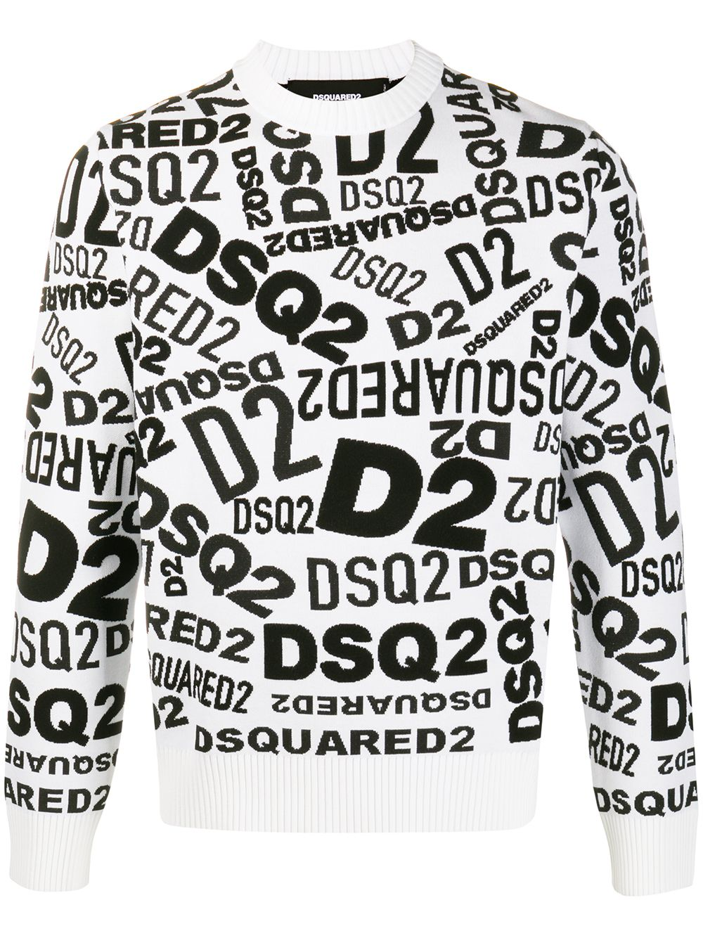 DSQUARED2 All Over Logo Sweatshirt