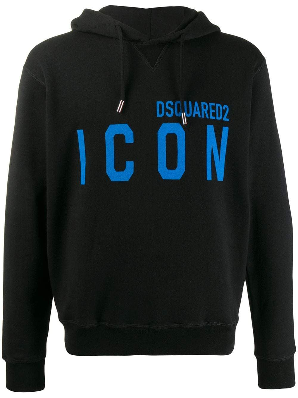 DSQUARED2 Icon Hoodie Black/Blue