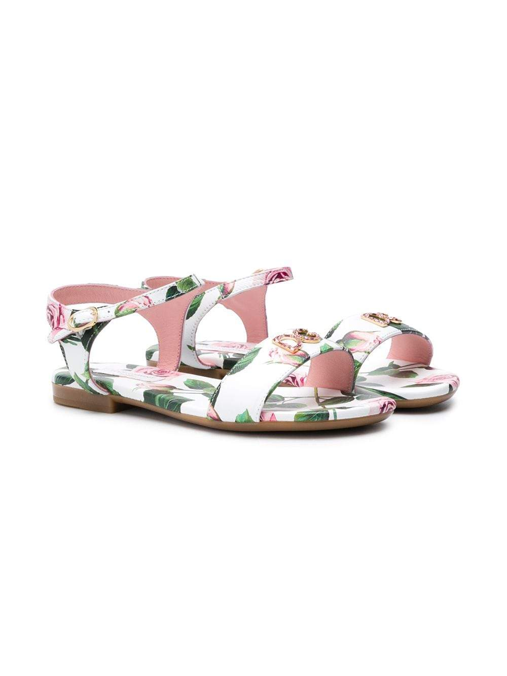 DOLCE & GABBANA KIDS red/pink sandals