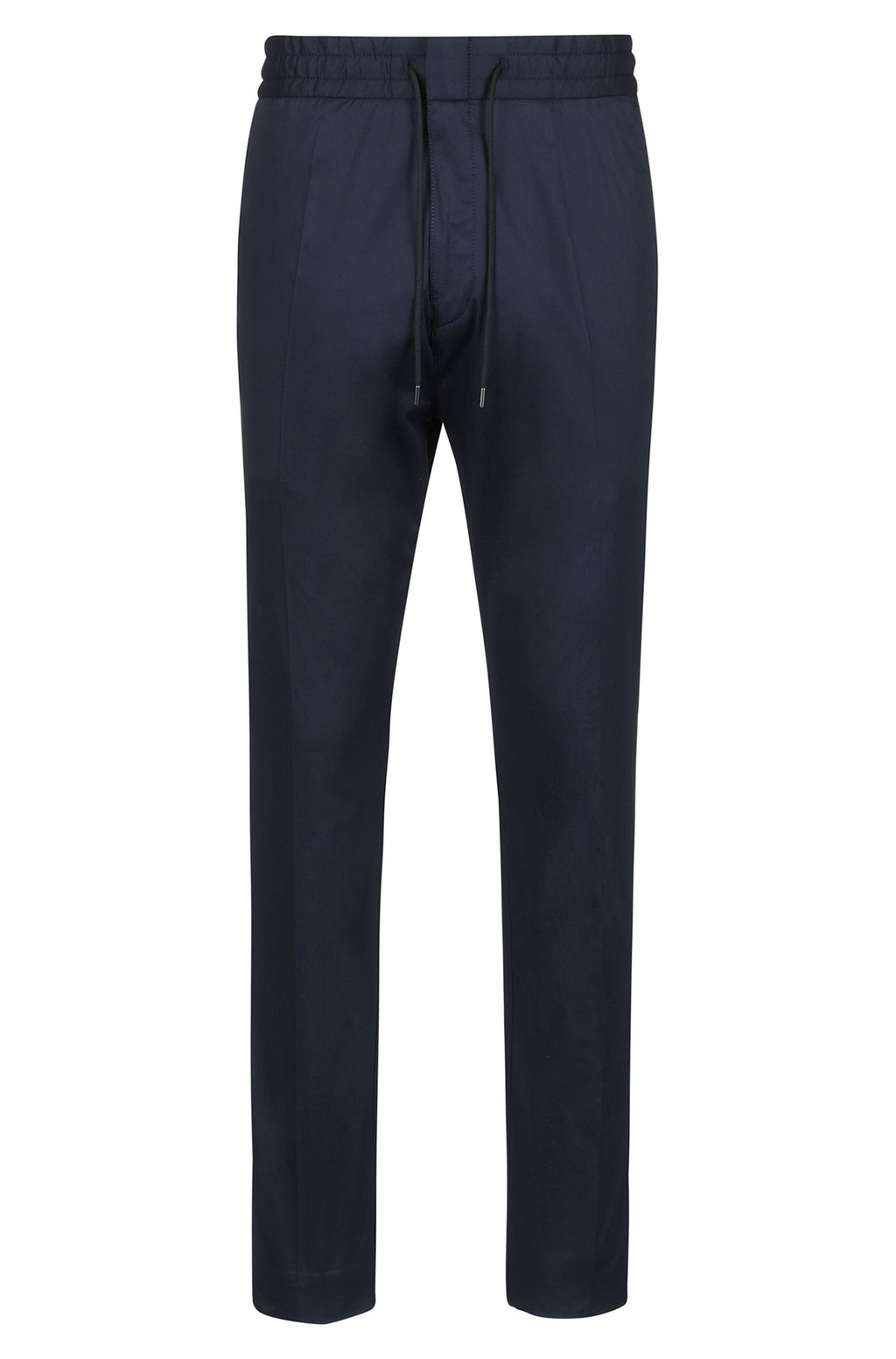 Hugo Boss Tapered Trousers with Waistband - Maison De Fashion