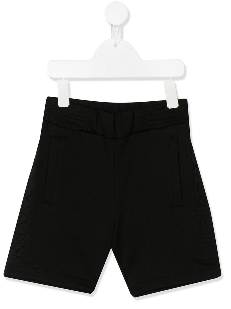 BALMAIN KIDS tailored shorts black