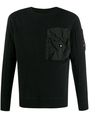 C.P. COMPANY oversized pocket jumper - Maison De Fashion