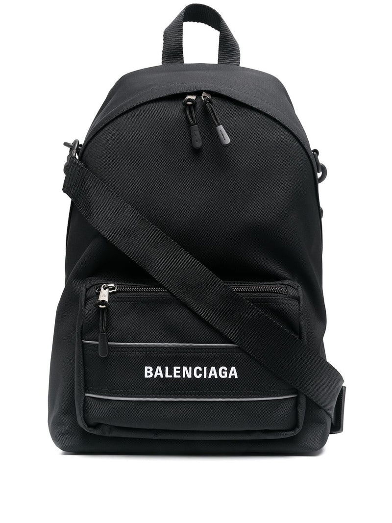 BALENCIAGA Sport Crossbody Backpack Black - Maison De Fashion