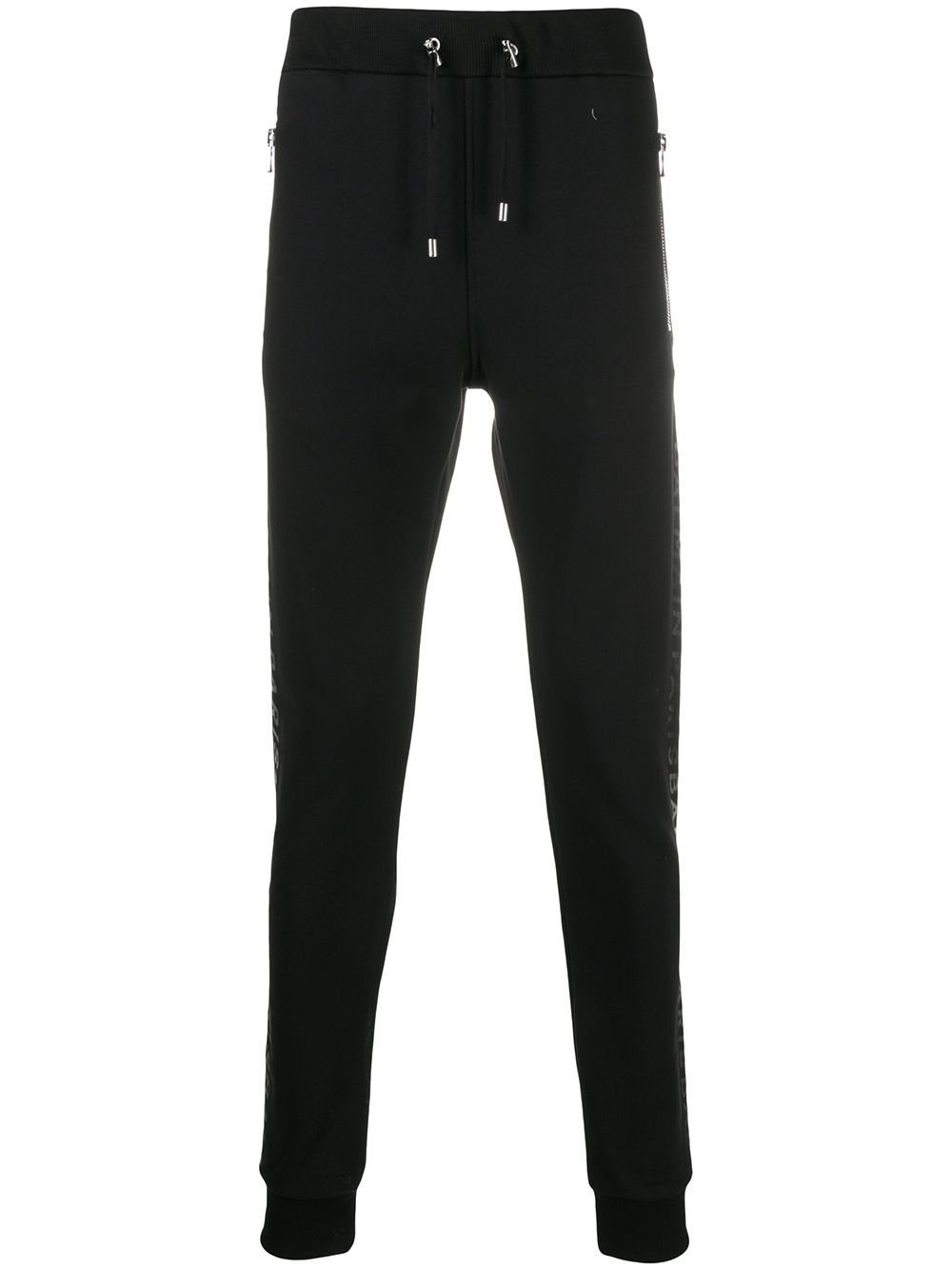 BALMAIN Foil Sweatpants Black - Maison De Fashion