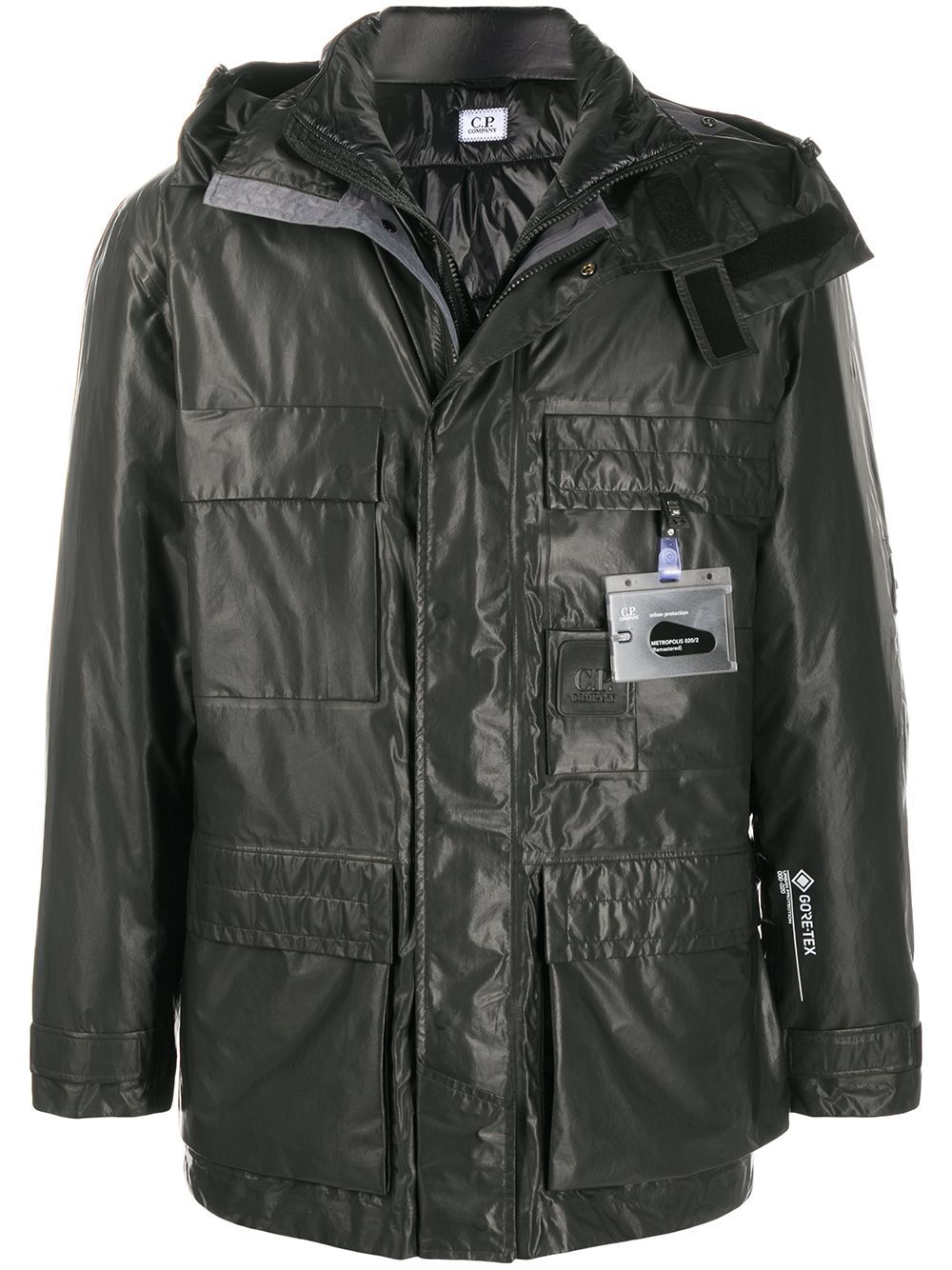 C.P COMPANY Metropolis (Remastered) Jacket Charcoal