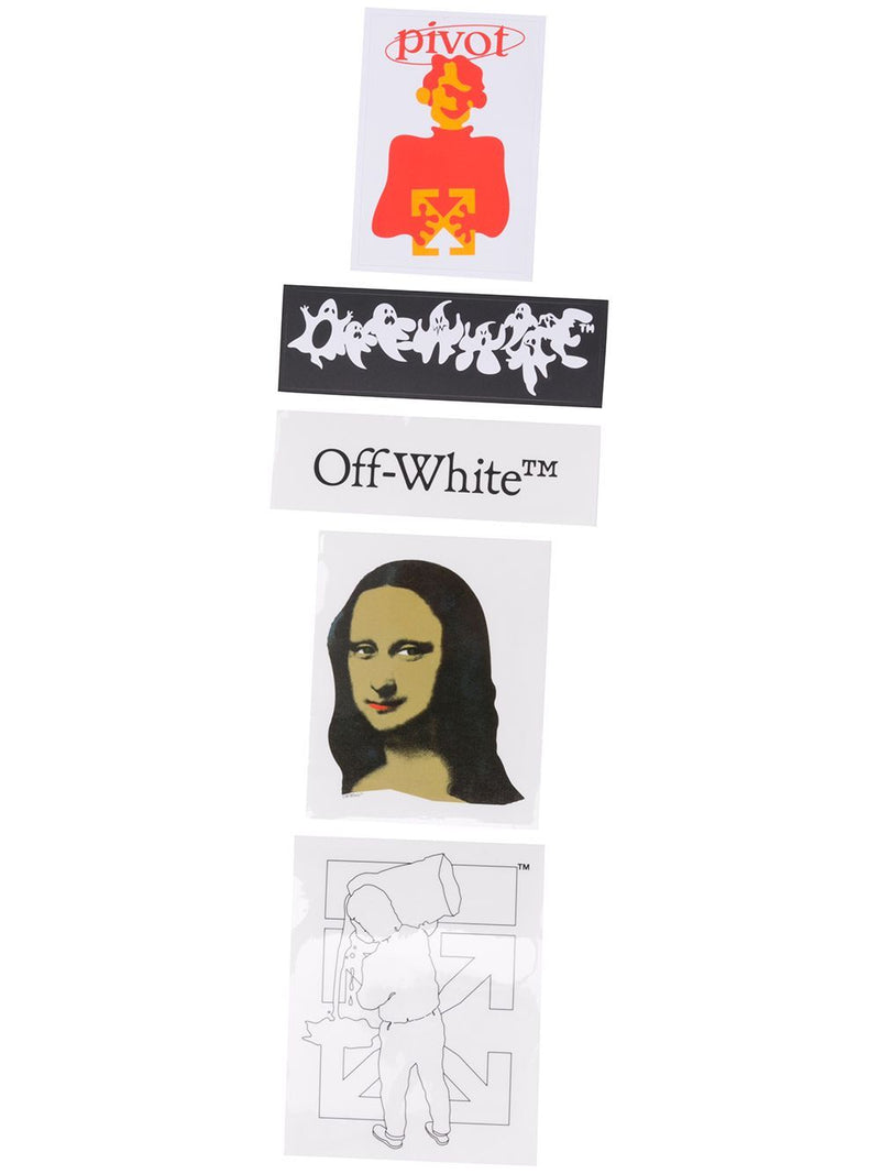 OFF-WHITE Mona Lisa sticker set