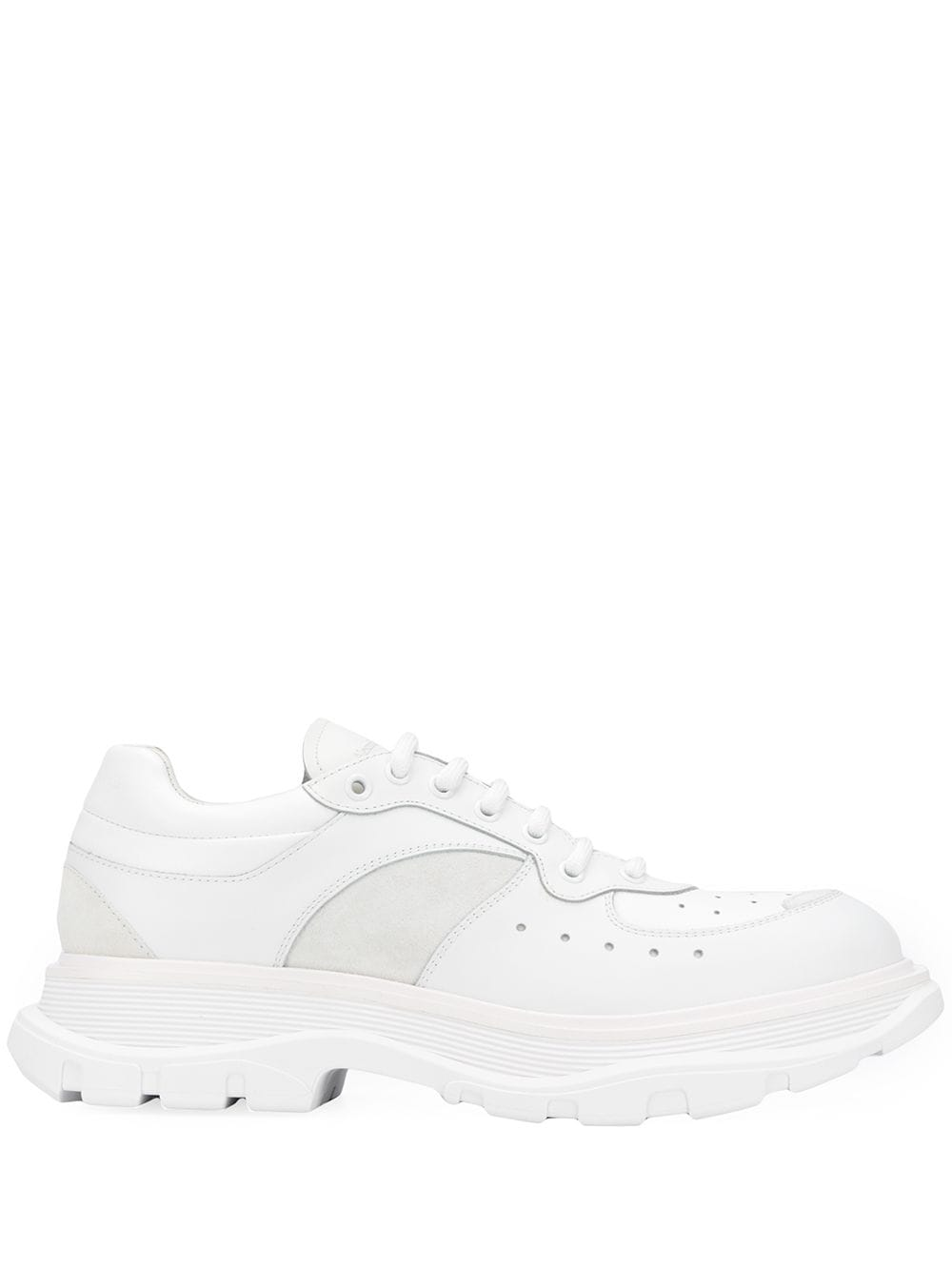Alexander McQueen Tread Slick Sneakers White