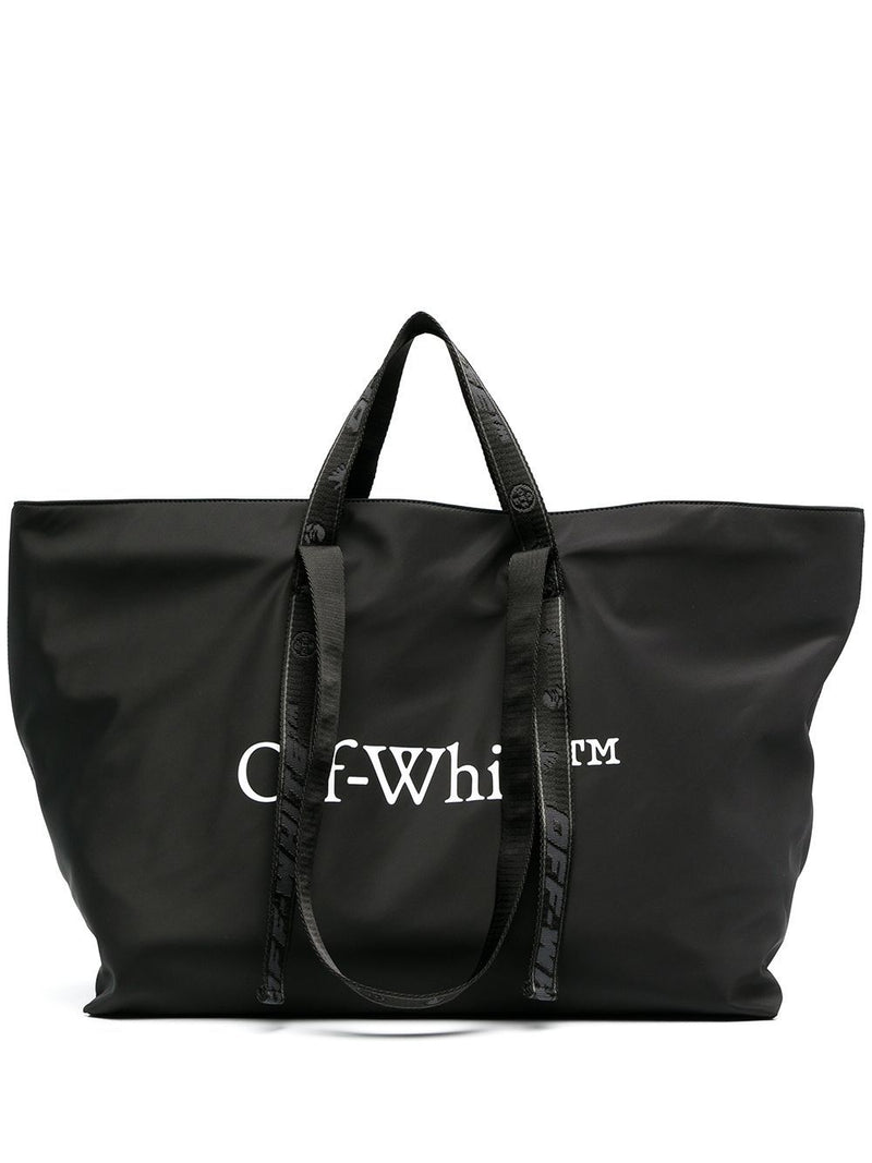 OFF-WHITE Womens Commercial tote bag Black