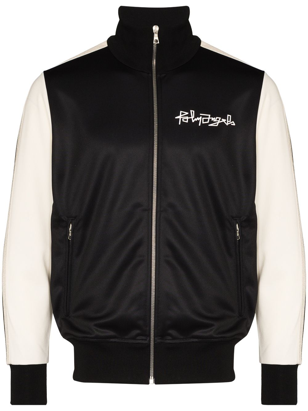 PALM ANGELS Desert Skull Track Jacket Black