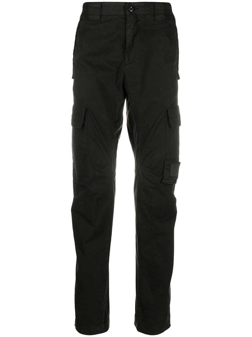 C.P COMPANY Lens Cargo Trousers Black - Maison De Fashion