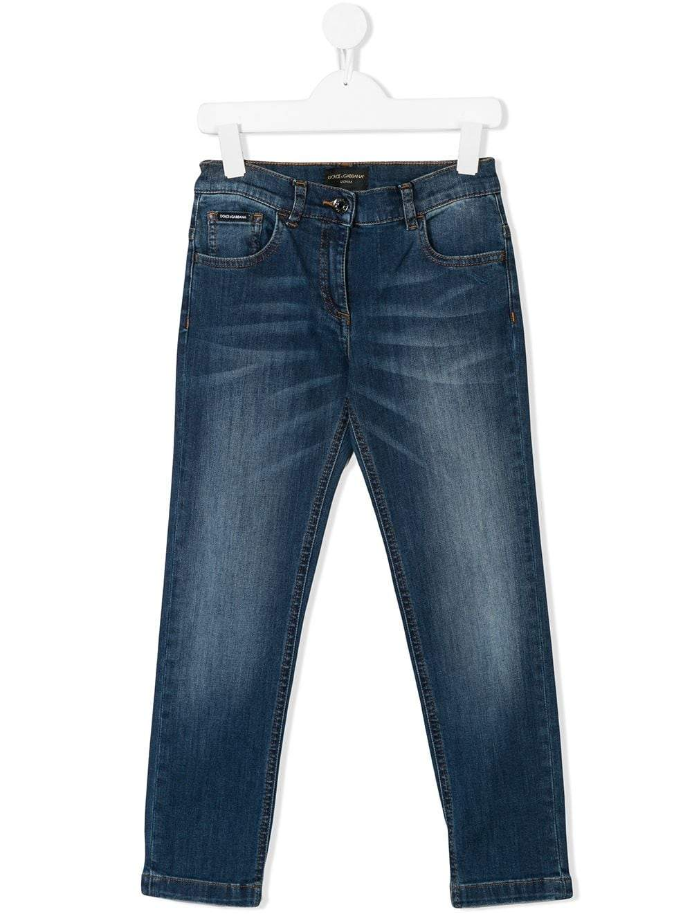 DOLCE & GABBANA KIDS Slim Fit Jeans