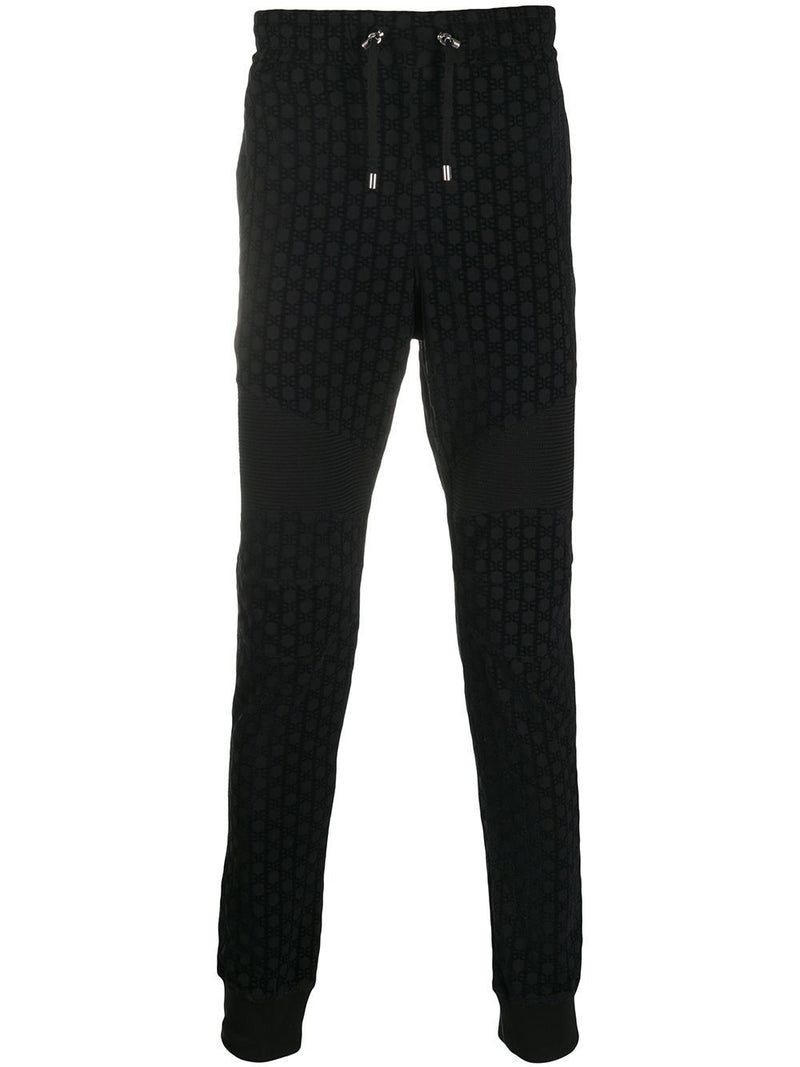BALMAIN Resin Sweatpants Black - Maison De Fashion