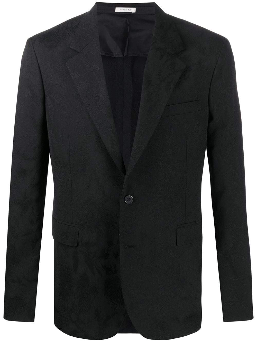 Alexander McQueen 2 button tonal zip up jacket - Maison De Fashion